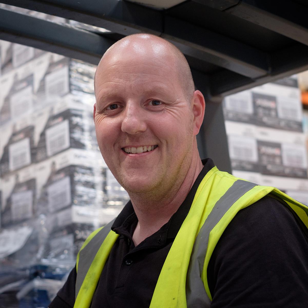 Derek Force Warehouse Specialist Deeside