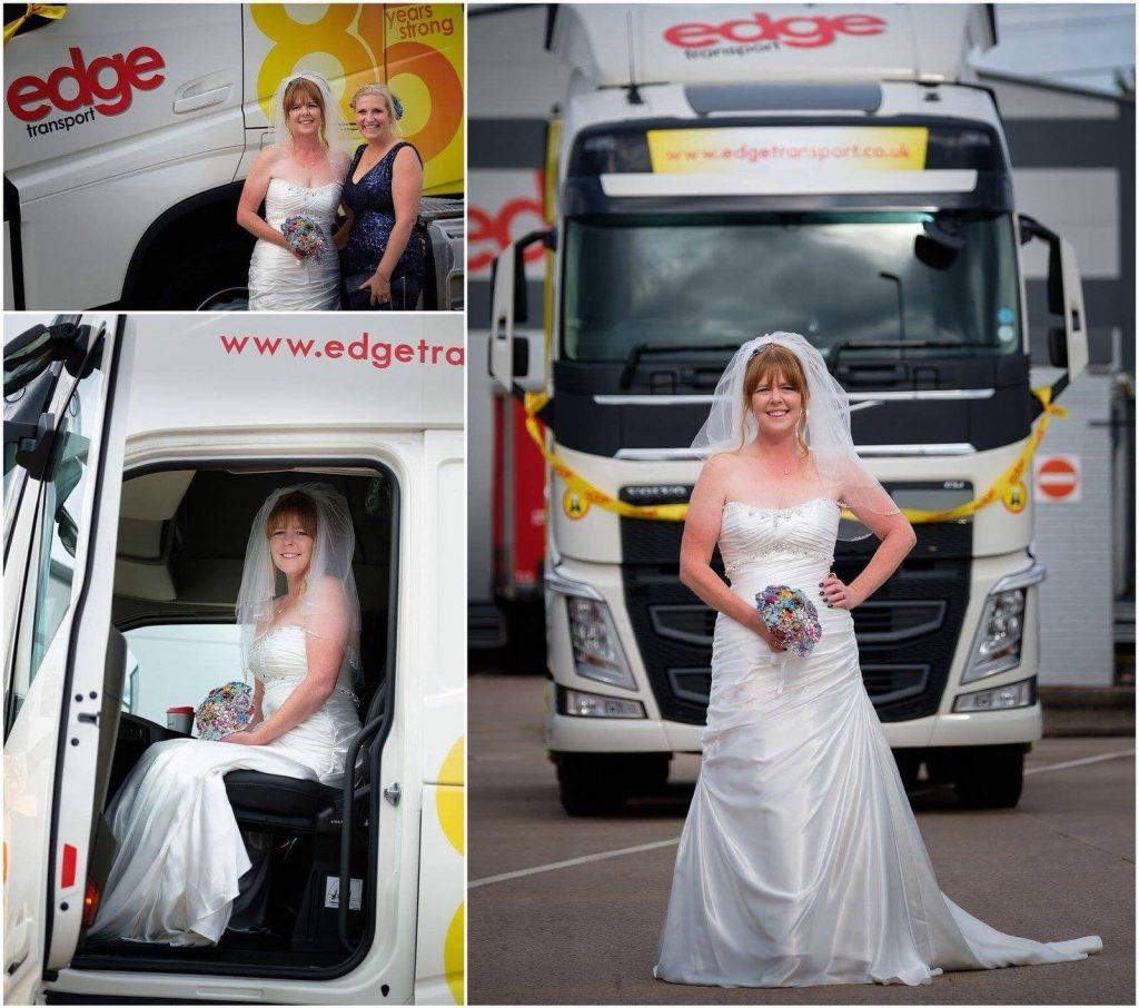 Katrina Wedding Truck