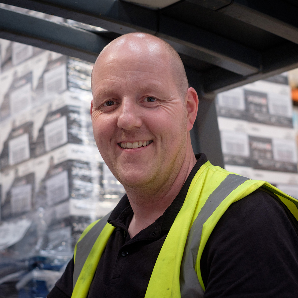 Derek Force Warehouse Specialist Deeside