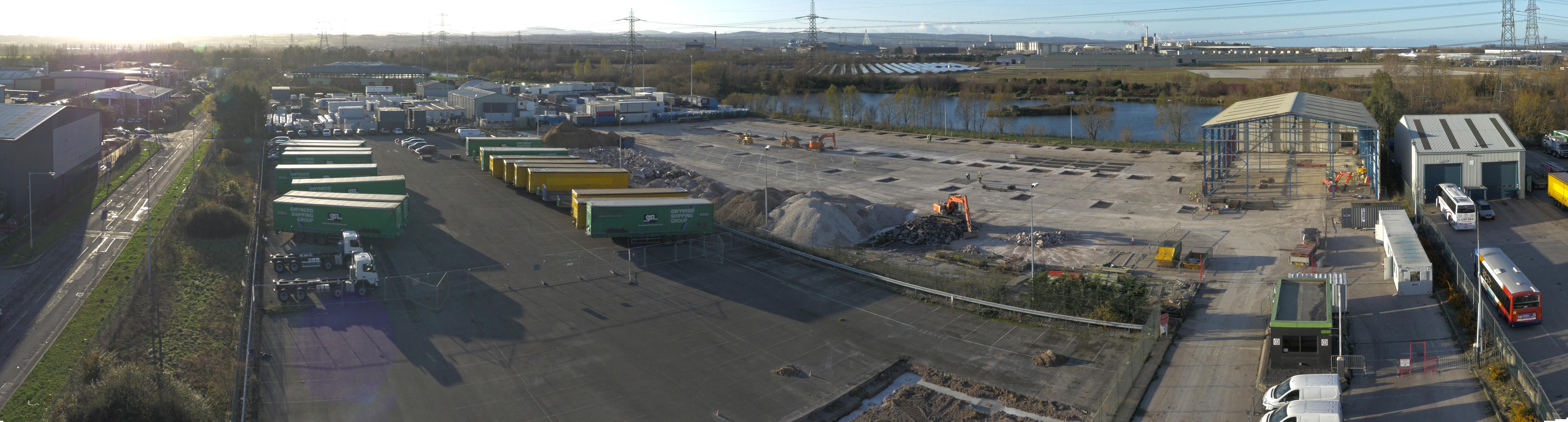 New build Deeside Industrial Park